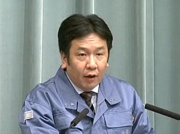 平成23年3月26日(土)午後(16:18~)-内閣官房長官記者会見